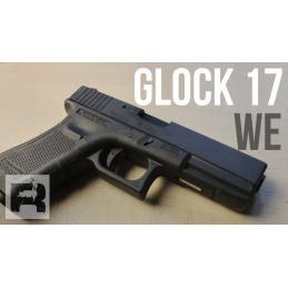 WE- GLOCK 17 GEN4 GBB NEGRA