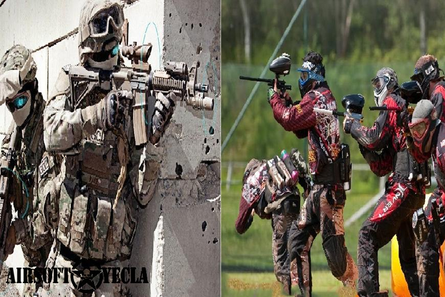 Diferencias entre Airsoft y Paintball