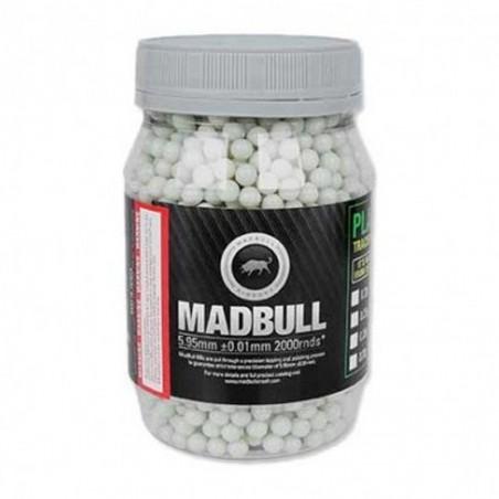Madbull bote de bolas 0,20 g trazadoras (2.000 bbs)