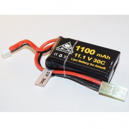 Bateria 11,1V Lipo 30C 1100mAh Micro