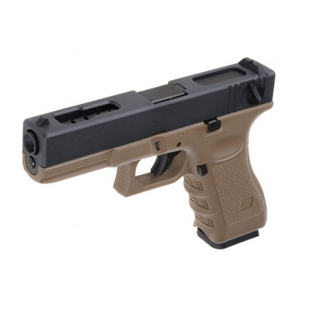 WE-GLOCK 18 GEN4 GBB Tan Negro