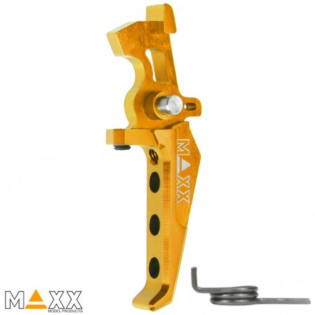 GATILLO MAXX MODEL CNC REGULABLE - GOLD