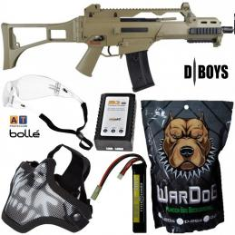 KIT COMPLETO G36 C TAN DBOYS