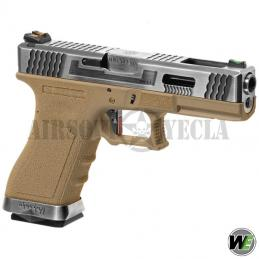 WE G-Force 17 SV Silver TAN...