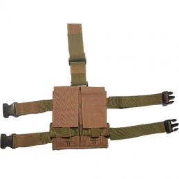 Portacargador pierna doble M4