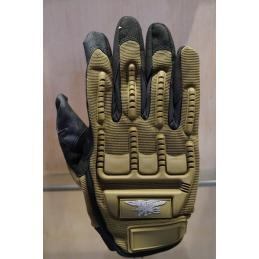 Guantes tacticos SEAL TAN L