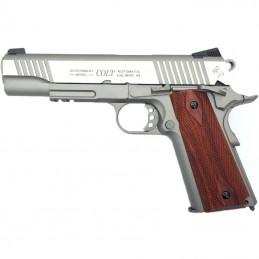 COLT 1911 RAIL GUN CO2 PLATA