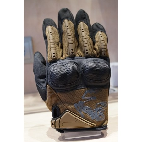 Guantes tacticos Frog Skeleton tan M