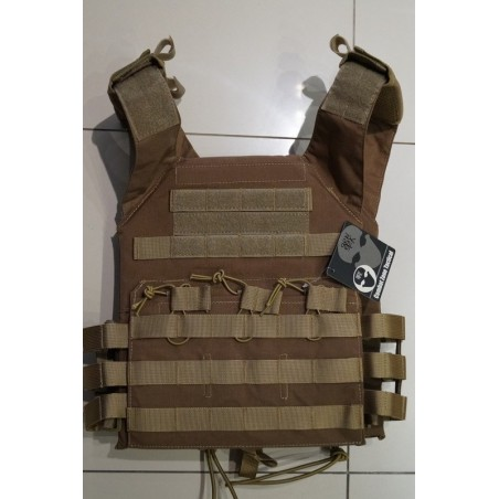 Chaleco tactical estilo XPC tan