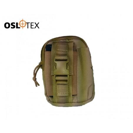OSLOTEX Pouch porta GPS Multiusos Coyote Nylon 1000D