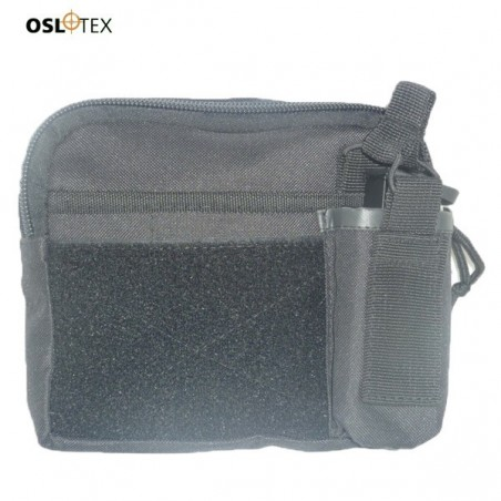 OSLOTEX Portamapa Con cremallera BK