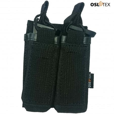 OSLOTEX Portacargador Doble De Pistola BK