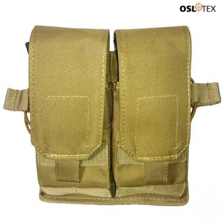 OSLOTEX Portacargador Doble DX Coyote