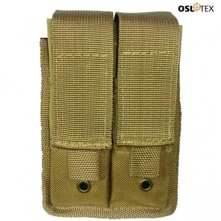 OSLOTEX Portacargador Pistola Doble Coyote