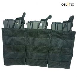 OSLOTEX Pouch Portacargador Triple m4 BK