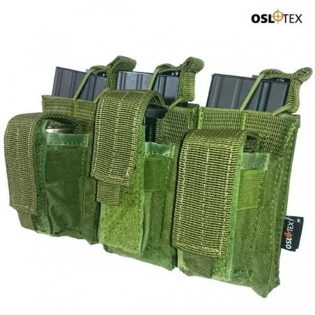 OSLOTEX Pouch Portacargador Triple Kanguro m4 OD
