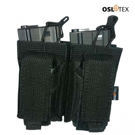 OSLOTEX Pouch Portacargador Doble Kanguro m4 BK