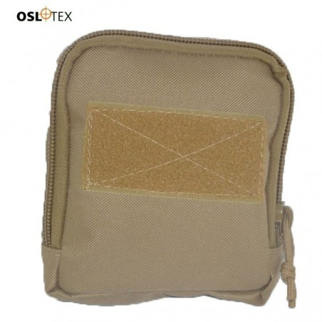 OSLOTEX Bolso Molle Mediano Coyote 15x15x3 cm