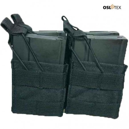 OSLOTEX Pouch Portacargador Fourpack m14 Negro