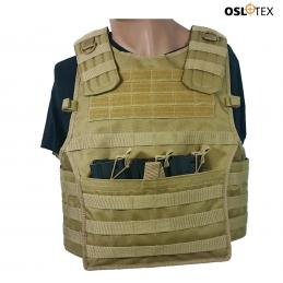 OSLOTEX Chaleco American 2 Plate Carrier Coyote