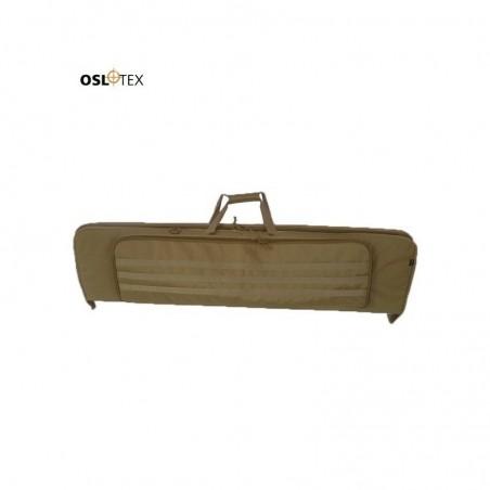 OSLOTEX Funda Doble 105 cm Con Molle, Coyote