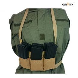 OSLOTEX Pouch Portacargador Elastico Six Pack m4/m16 Coyote