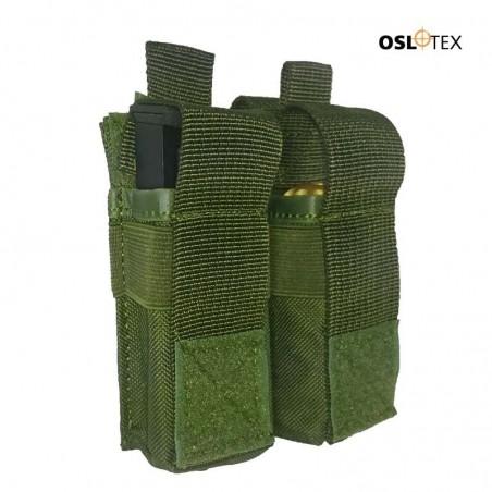 OSLOTEX Portagranada 40mm o Cargador Pistola Doble velcro OD