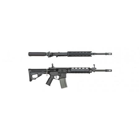 Ares Amoeba fusil 2016 M4 Medio (NEGRO)