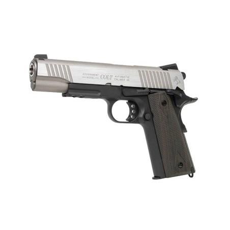 PISTOLA co2 Colt 1911 Rail Gun NEGRO/PLATA 180531