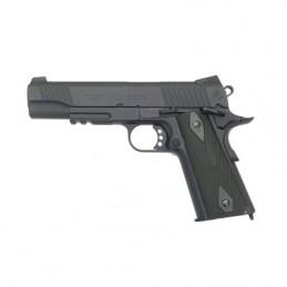 Pistola CO2 COLT 1911 RAIL GUN NEGRO/VERDE 180524