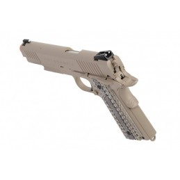 COLT 1911 M45 RAIL GUN CO2 TAN 180521