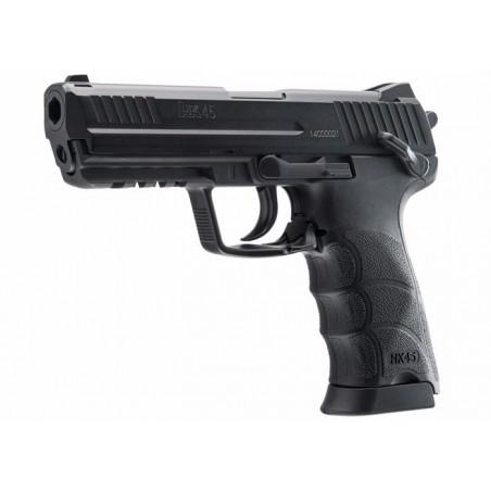 Pistola H&K HK45 Co2 - 4,5 mm BBs Acero Perdigones