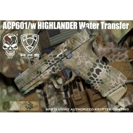 ACP Pistol Facelift NEW Kryptek Highlander ACP601HL