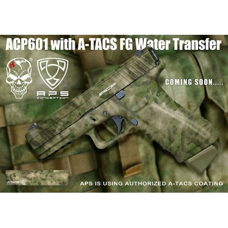 ACP Pistol Facelift NEW Atacs FG ACP601FG