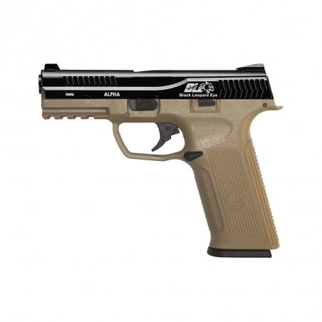 Pistola ICS BLE-001-SD3 ALPHA GAS BLOWBACK PISTOL TWO TONE