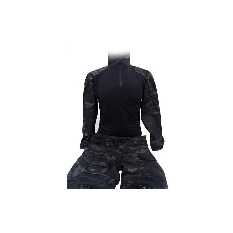Uniforme BlackMulticam Deluxe Completo