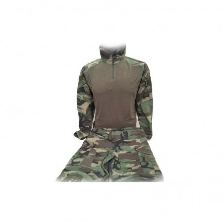 Uniforme DELUXE completo Woodland
