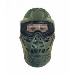 Mascara Completa Verde Rejilla Airsoft