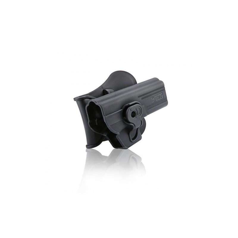 Funda Rigida Glock 17, 22 , 31 CYTAC BLACK