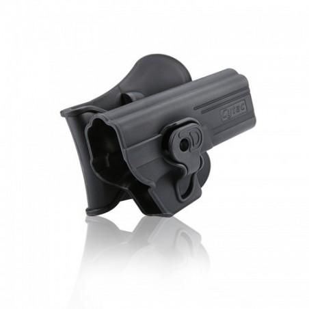 Pistolera Rigida Glock 17,18, 23 , 31 CYTAC BLACK
