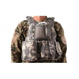 Chaleco Plate Carrier ACU Delta Tactics V07