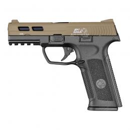 PISTOLA ICS BLE-006-SD4 XAE GAS BLOWBACK TWO TONE
