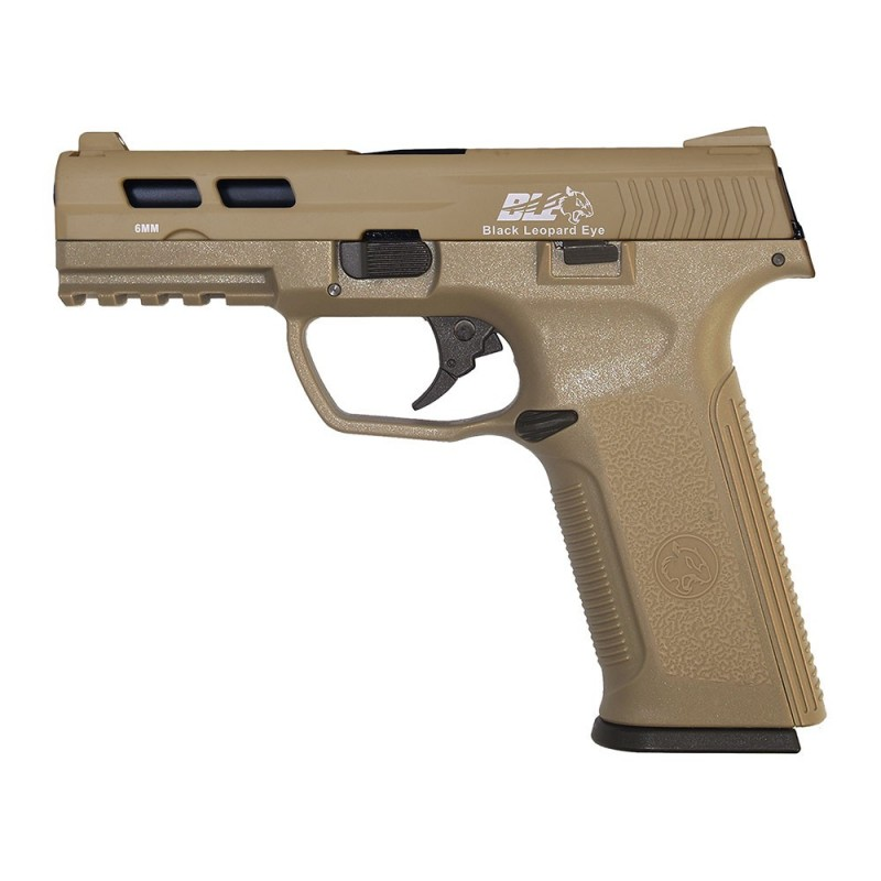 ICS BLE-006-ST XAE GAS BLOWBACK PISTOL TAN