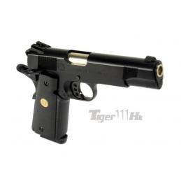 Pistola SY 1911 MEU CO2 VERSION 1911C con llave de co2 y nozzle reforzado