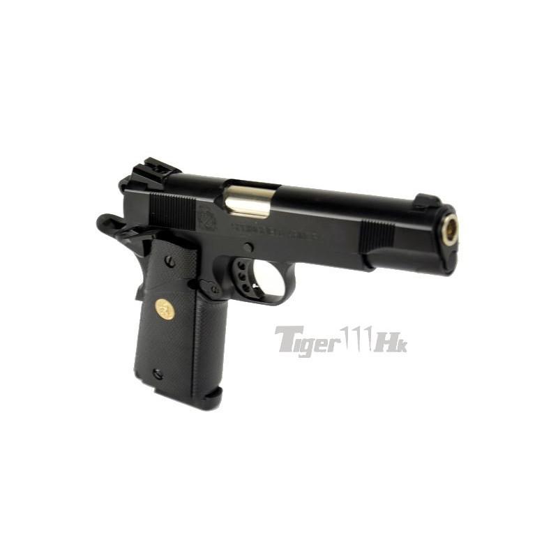 Pistola SY 1911 MEU CO2 VERSION 1911C con llave de co2 y nozzle reforzado