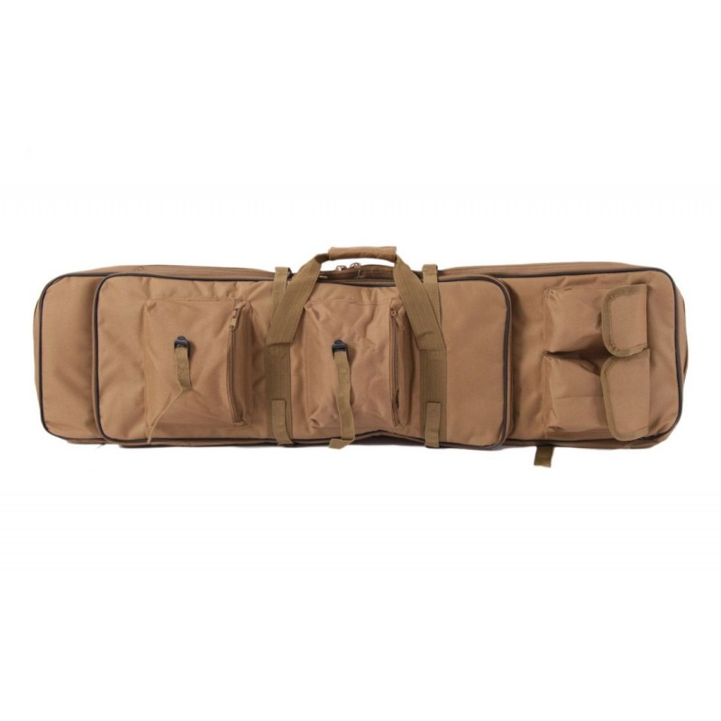 FUNDA TRANSPORTE RIFLE MULTIBOLSILLOS 100CM TAN DELTA TACTICS