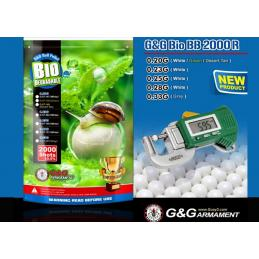 Bolas Bio 0,28 G&G 2000bbs