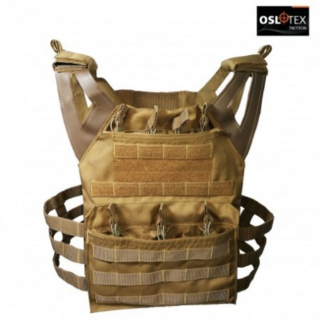 OSLOTEX Chaleco JPC Coyote 1000D