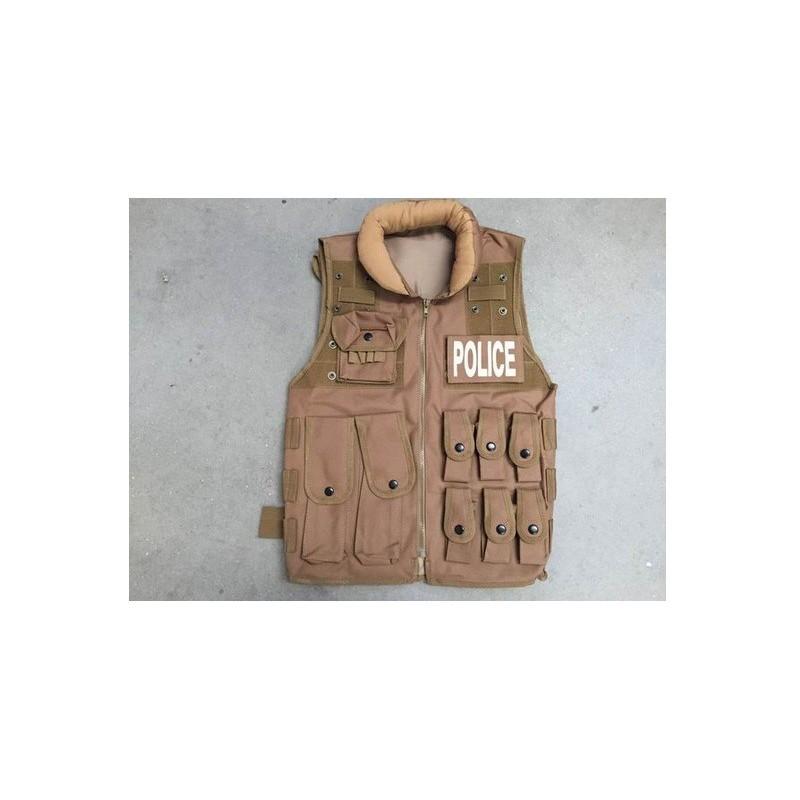 Chaleco Tactico Swat Tan Delta Tactics V15