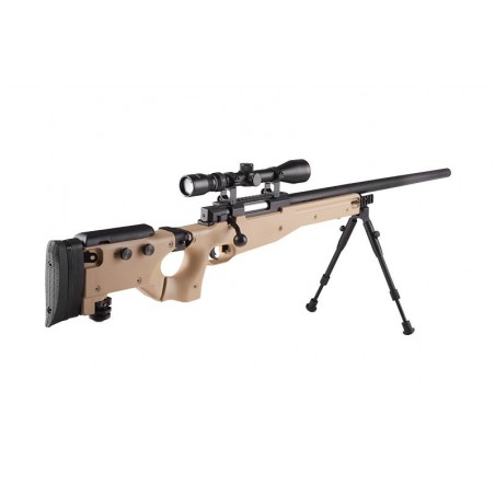 Mauser L96 WELL Culata Plegable TAN MB08D UPGRADED